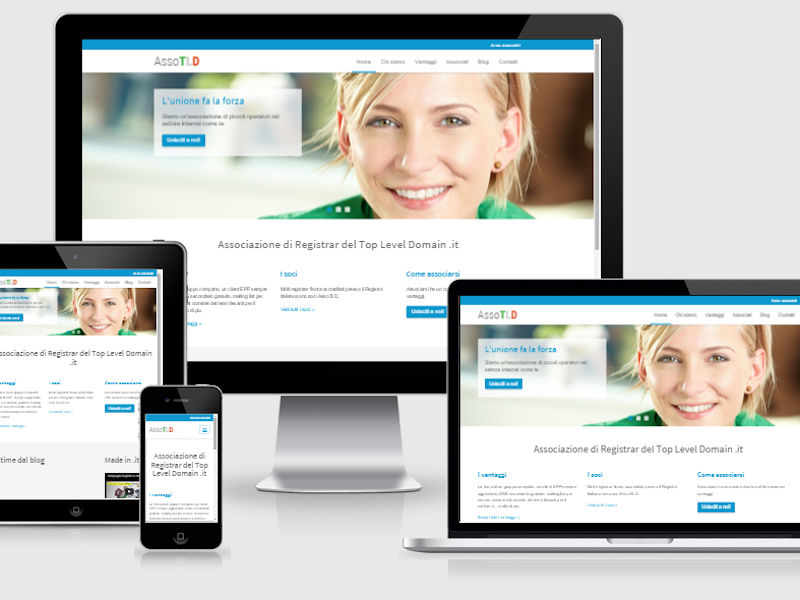 Nuovo sito web AssoTLD responsive